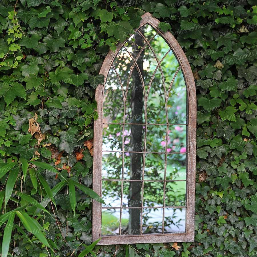 Miroir fen tre de jardin 109cm mobilier de jardin for Pics de chicks dans l miroir
