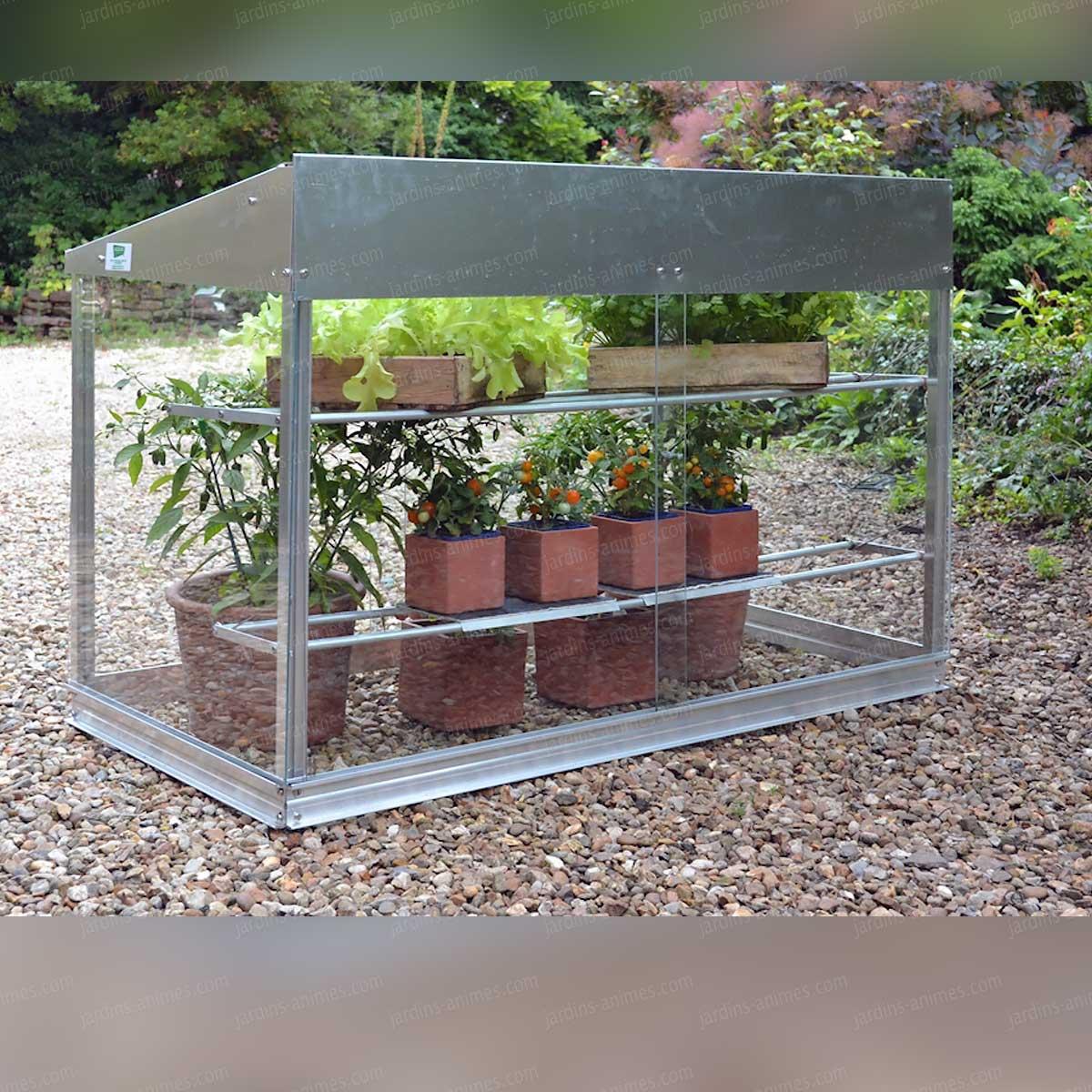 Jardins anim s am nagement du jardin architecture du jardin serre jardin mini serre en verre et for Jardin 0 l4anglaise