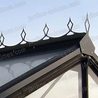 Faitiere decorative noir R205H
