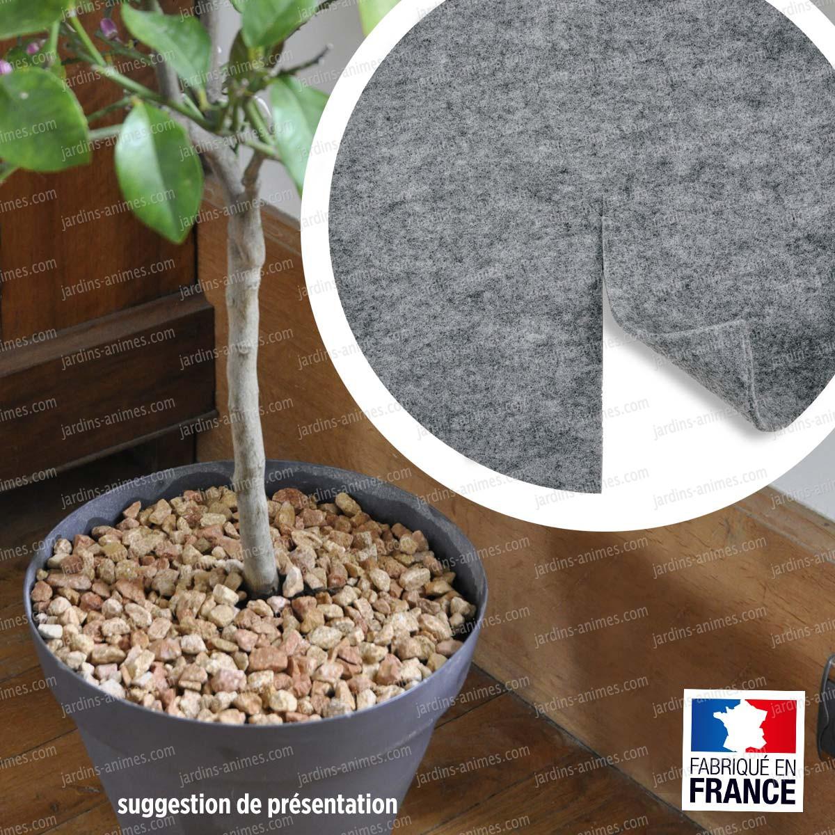 Feutre decorpot 30cm pour plantes en pot accessoires de for Plantes d interieures
