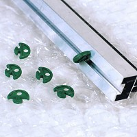 Clips de fixation en plastique pour isolant serre<br>sachet de 50pcs