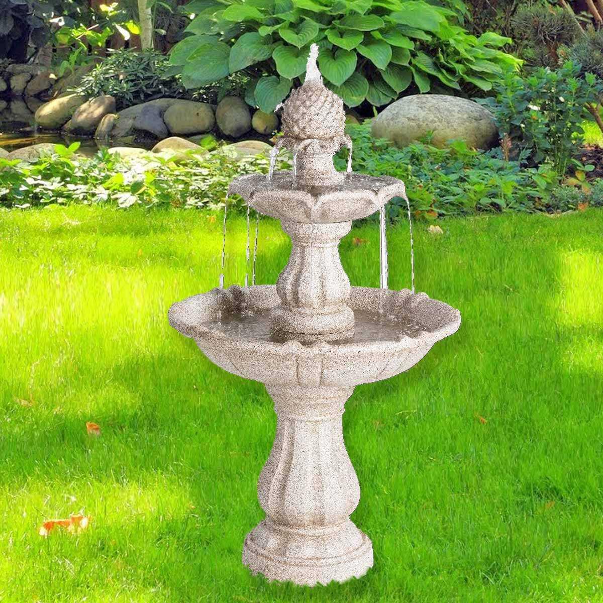 Fontaine royale 2 niveaux de cascade