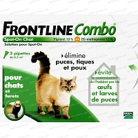 Frontline Combo pour chat - 3 pipettes