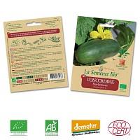 Concombre Marketmore graine semence bio