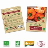 Poivron California Wonder orange graine semence bio