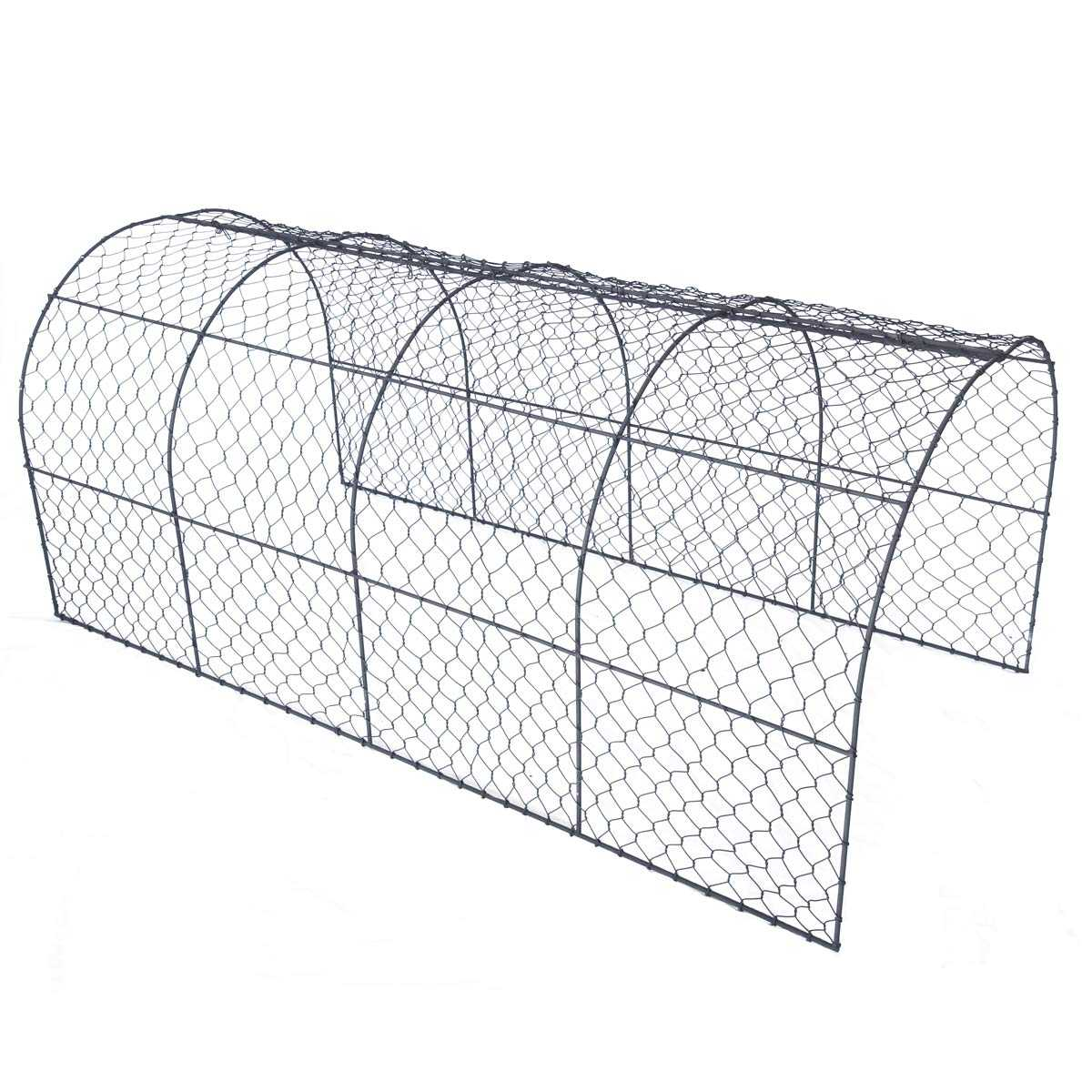 Tunnel de protection en grillage à poule - Grand modèle 120cm