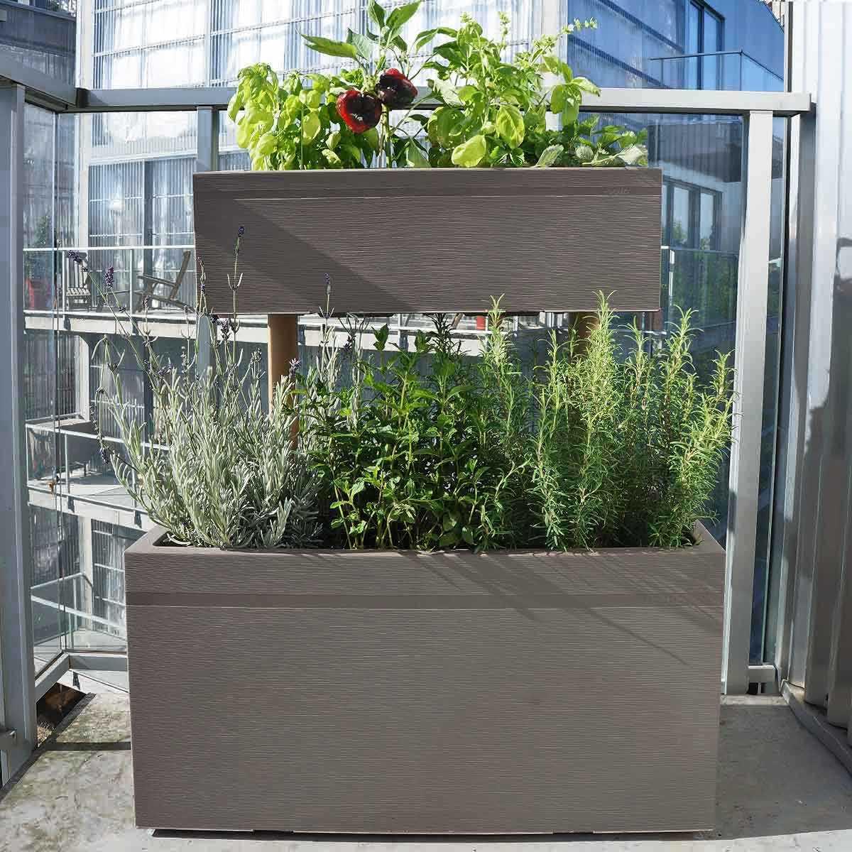 Jardiniere Haute Superposee Pour Balcon Vente Au Meilleur Prix