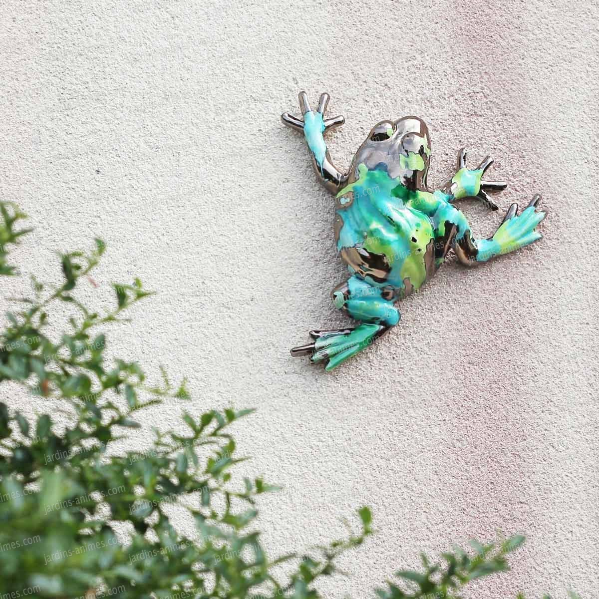 Grenouille d co en c ramique figurines d coratives for Grenouille jardin deco