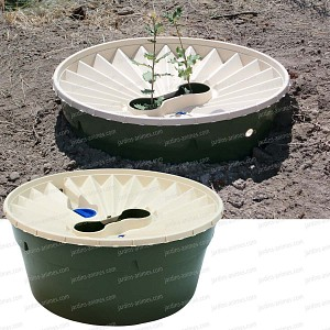 Groasis waterboxx, bac de plantation autonome - Lot de 2