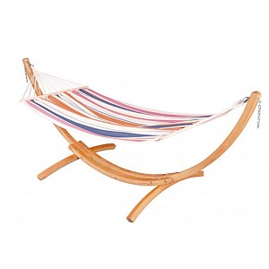 Kit hamac 1 place Chillounge Sunrise et support en bois