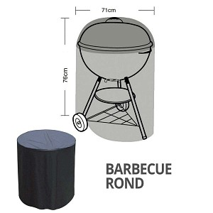 Housse bâche protection barbecue rond diam. 71cm