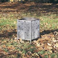Incinérateur carré déchets de jardin