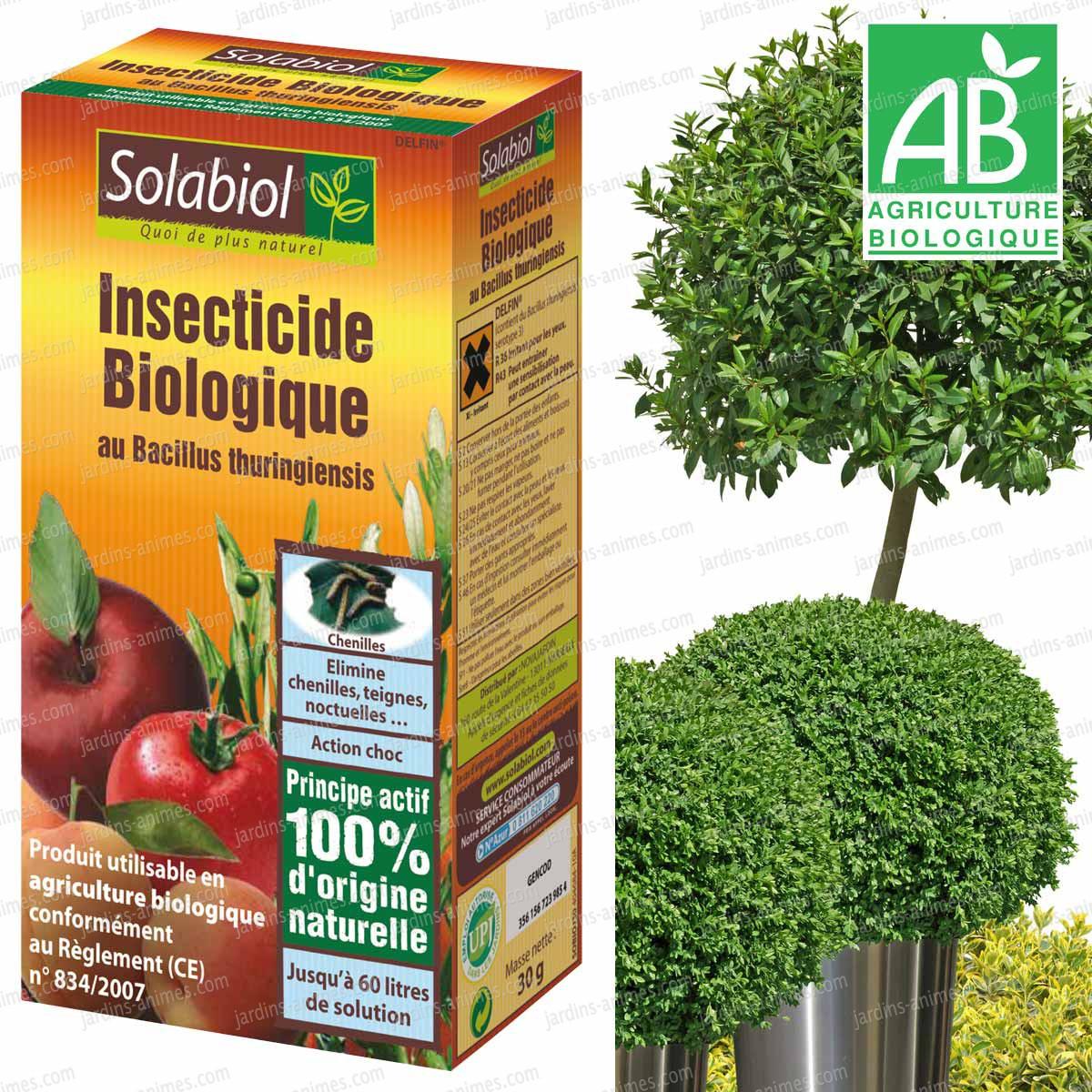 insecticide biologique au bacillus thuringiensis 30g. Black Bedroom Furniture Sets. Home Design Ideas