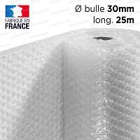 Film à bulle 30mm d'emballage pour isolation serre dim.1.5m x 25m