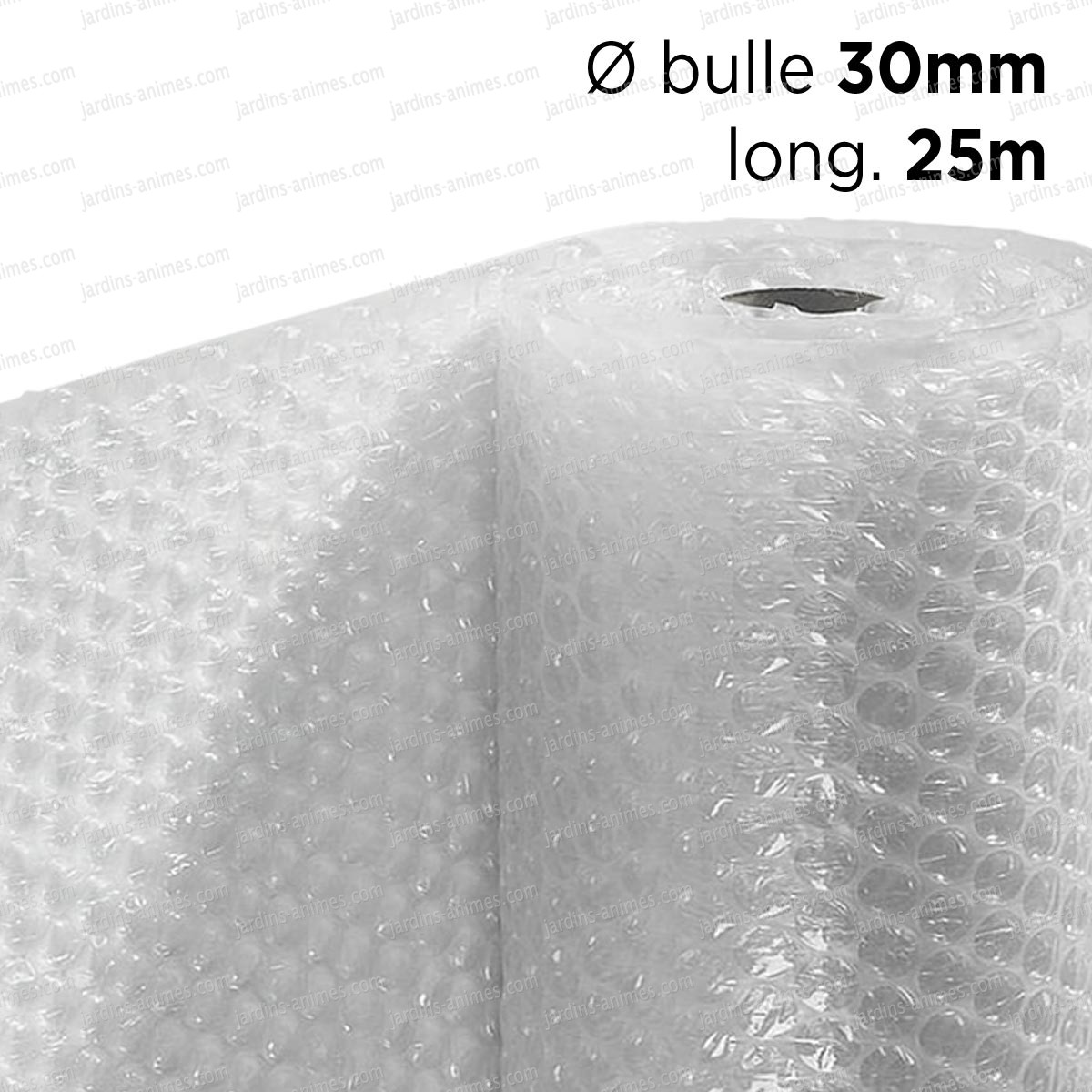 film bulle 30mm d 39 emballage pour isolation serre dim x 25m serre jardin accessoires. Black Bedroom Furniture Sets. Home Design Ideas