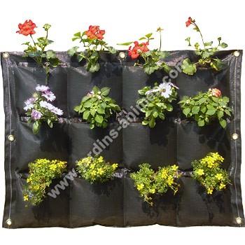 Mur v g tal exterieur 12 poches mur v g tal jardin vertical - Prix mur vegetal exterieur ...