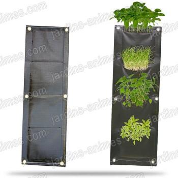 mur v g tal exterieur 4 poches mur v g tal jardin vertical. Black Bedroom Furniture Sets. Home Design Ideas