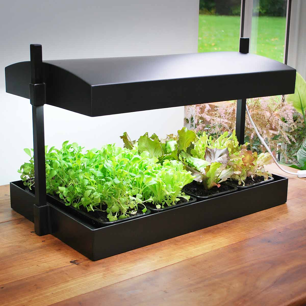 potager d 39 int rieur lampe de croissance horticole hydroponie lampe floraison. Black Bedroom Furniture Sets. Home Design Ideas