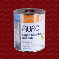Laque brillante Rouge Perse 0.75L Auro 250-37