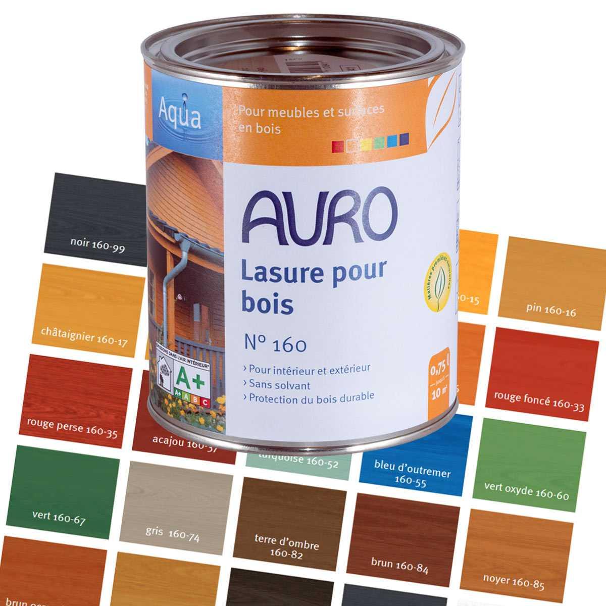 Great Lasure Pour Bois Aqua Auro 160
