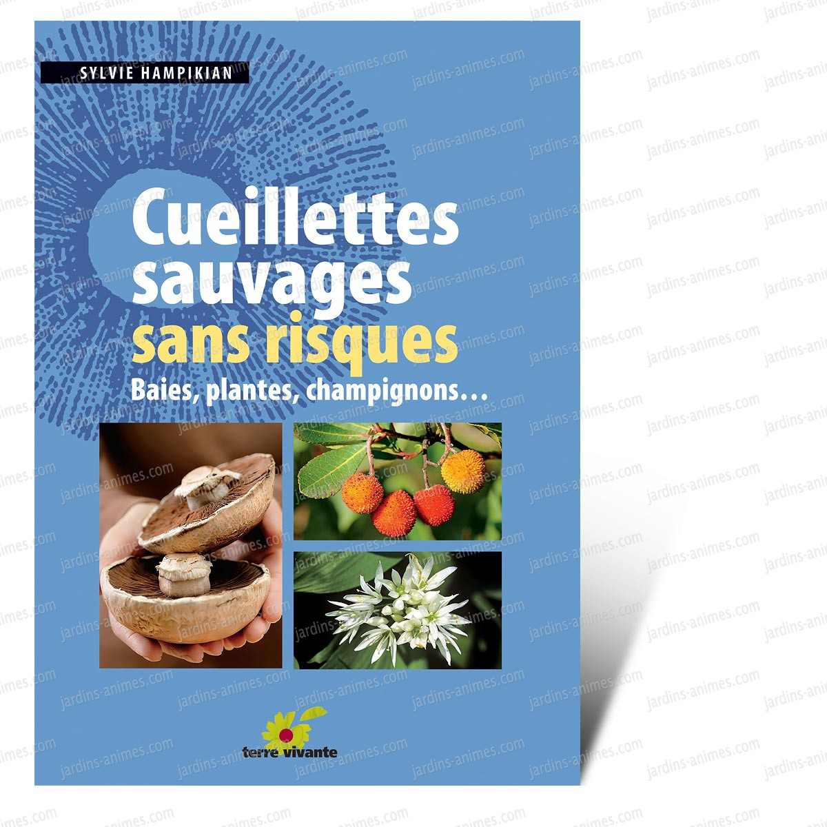 Cueillette sauvage sans risques livre terre vivante livres jardin bio - Les champignons de jardin sont ils comestibles ...