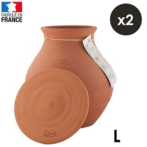 Lot de 2 Oyas pot à enterrer 5L - Taille L