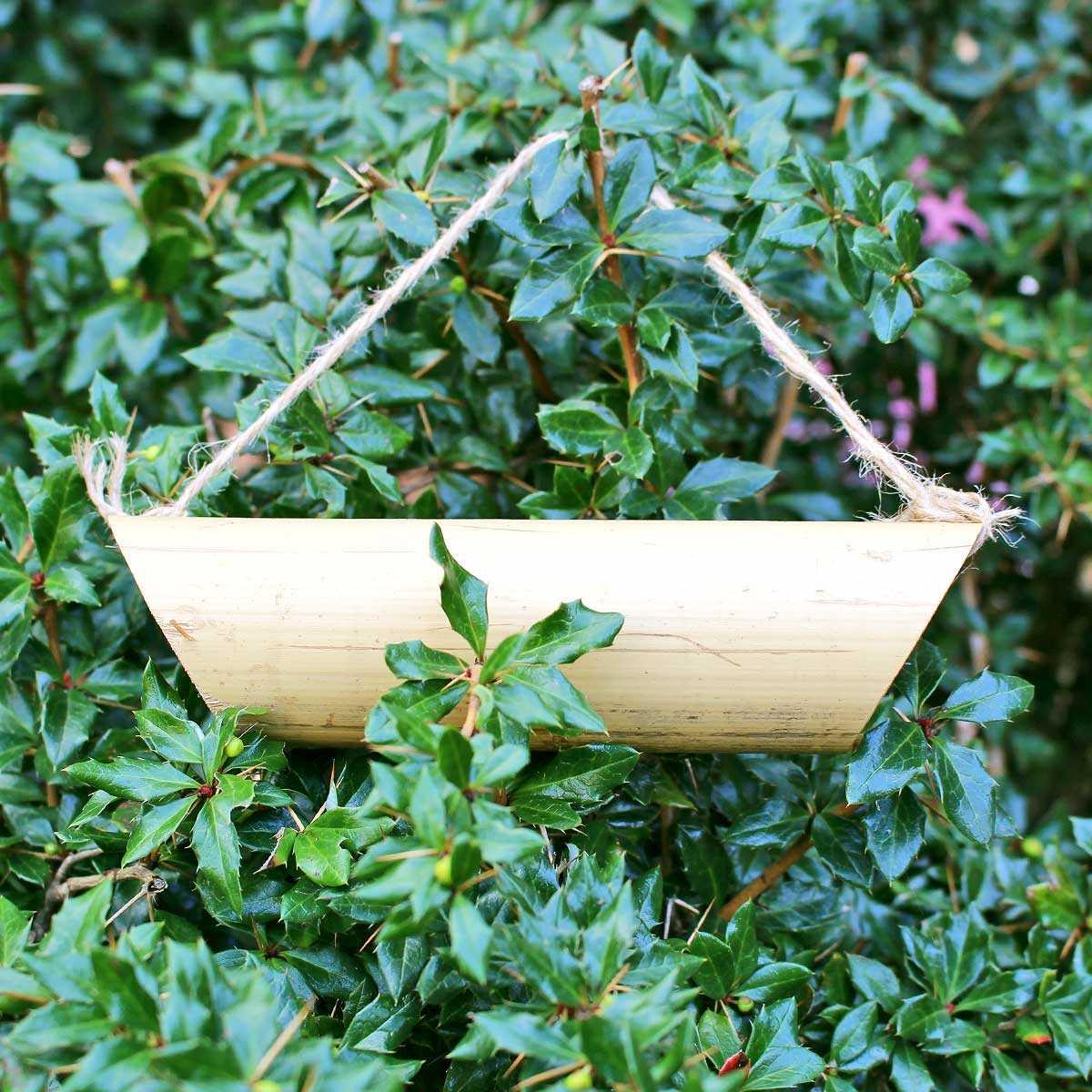 Comment Se Débarrasser Des Bambous Dans Le Jardin mangeoire pour coccinelles en bambou