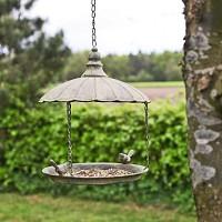 Mangeoire oiseau à suspendre vintage