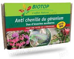 Traitement chenille geranium et brun pelargonium anti pucerons cochenille bio - Traitement contre les chenilles ...