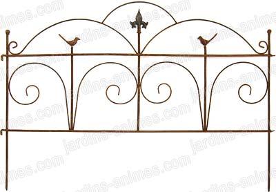Bordure m tal acier classique bordure de jardin - Bordure de jardin metal ...