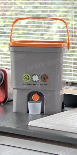 composteur de cuisine x1 sac 2kg bokashi micro organismes em. Black Bedroom Furniture Sets. Home Design Ideas
