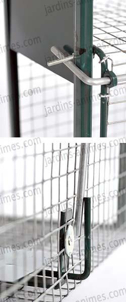 Cage Piege A Lapin Double Entree Vente Au Meilleur Prix Jardins Animes