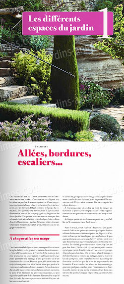 Aménager et fleurir son jardin - Livre Terre Vivante - Livres Jardin Bio