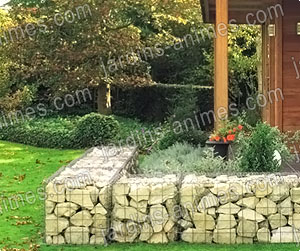 jardins animes g n ralit s sur les gabions. Black Bedroom Furniture Sets. Home Design Ideas