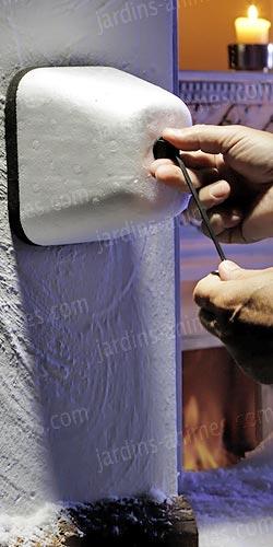 coque prot ge robinet contre le gel arrosage arrosoir