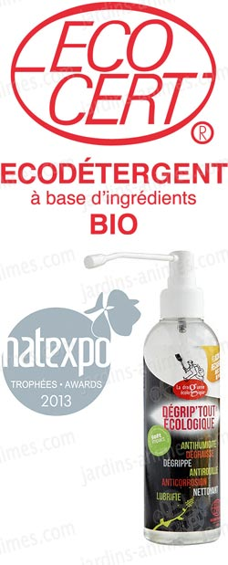 lubrifiant et degrippant spray 100% naturel