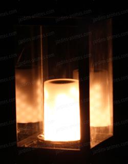 Lanterne D Exterieur En Metal Lampe Effet Flamme