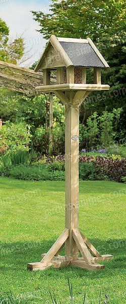 jardins anim s animaux oiseaux mangeoires bains d 39 oiseaux mangeoire osborne sur pied toit effet. Black Bedroom Furniture Sets. Home Design Ideas