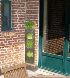 mur v g tal exterieur 4 poches pots de fleurs jardini res. Black Bedroom Furniture Sets. Home Design Ideas