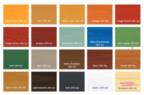 Lasure pour bois aqua auro 160 peintures et traitements for Lasure bois interieur couleur