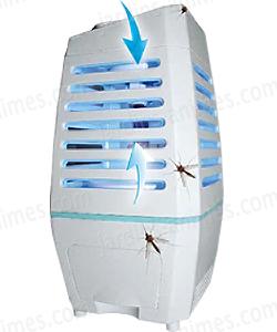 Pi ge aspirateur moustiques lumi re bleue sp cial int rieur anti guepe et moustiques bio - Piege moustique tigre ...