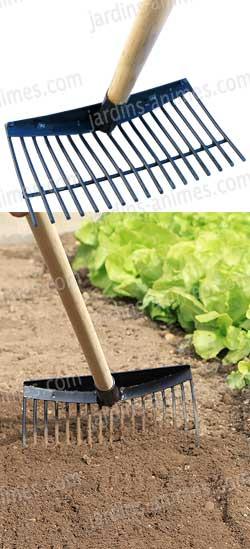 Rateau ramasse pomme de terre r colter les fruits - Comment enlever les cailloux de la terre ...