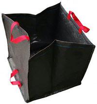 Sac v g taux costaud 270l sac baquet seau chariot for Sac pour feuilles mortes