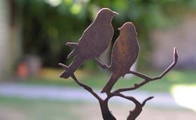 Silhouettes déco en métal | jardins-animes.com
