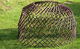 treillages support grimpantes. Black Bedroom Furniture Sets. Home Design Ideas