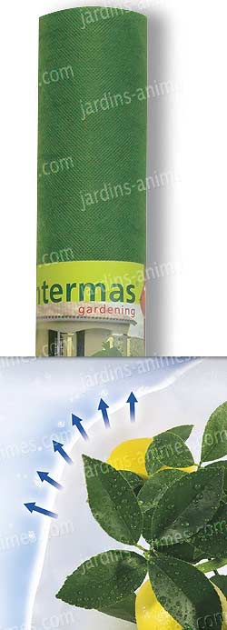 Voile d 39 hivernage renforc rouleau 1mx10m protection for Protection hivernale plantes