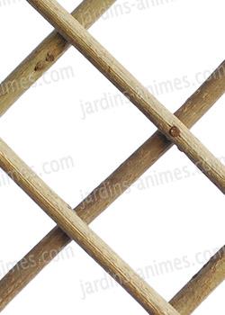 treillage extensible en bois acacia treillages support grimpantes. Black Bedroom Furniture Sets. Home Design Ideas