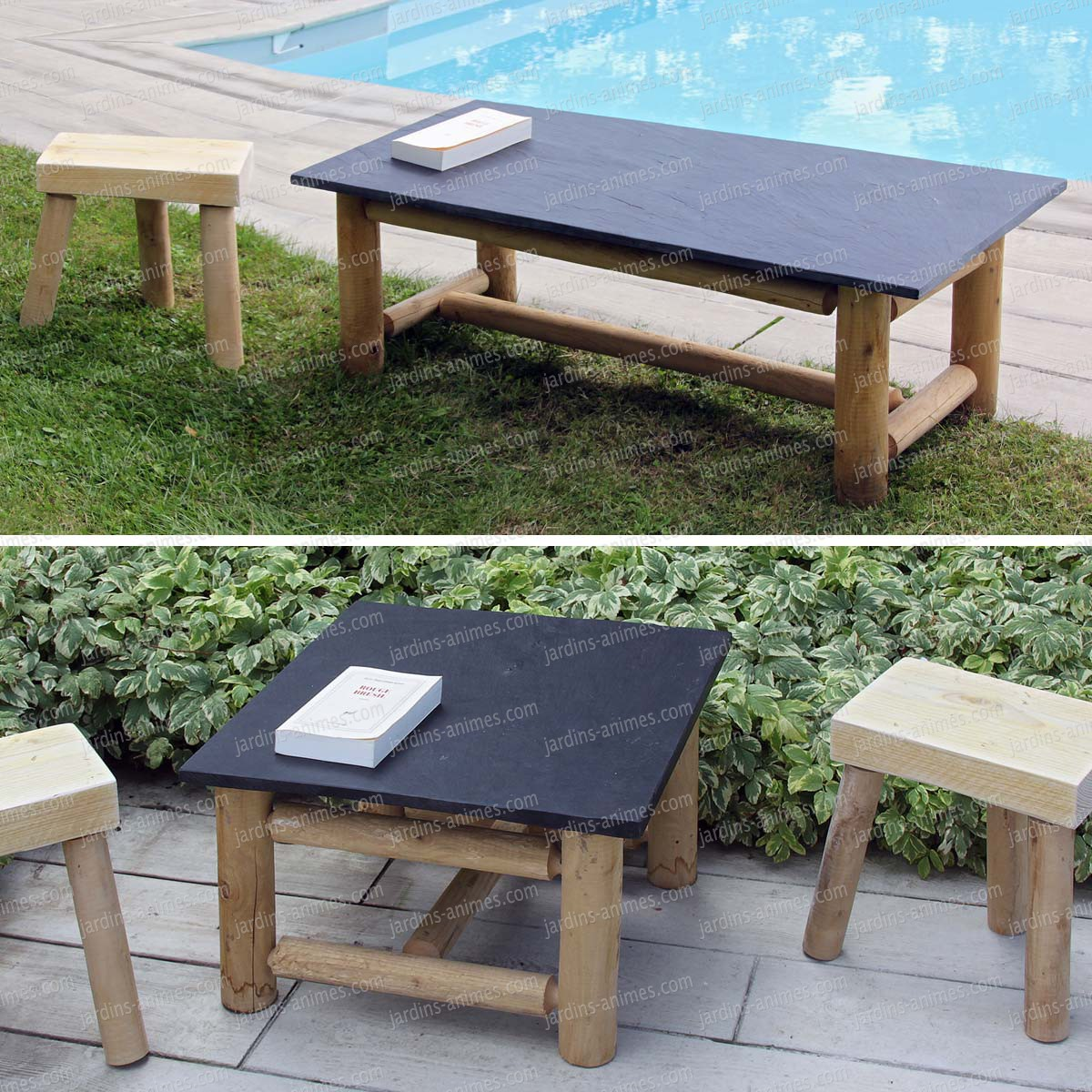 mobilier exterieur table basse