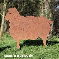 Silhouette Mouton grand modèle - long.113cm