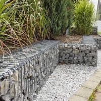Urban gabion pour mur en pierre - Fil 4,55mm - Maille 76mm